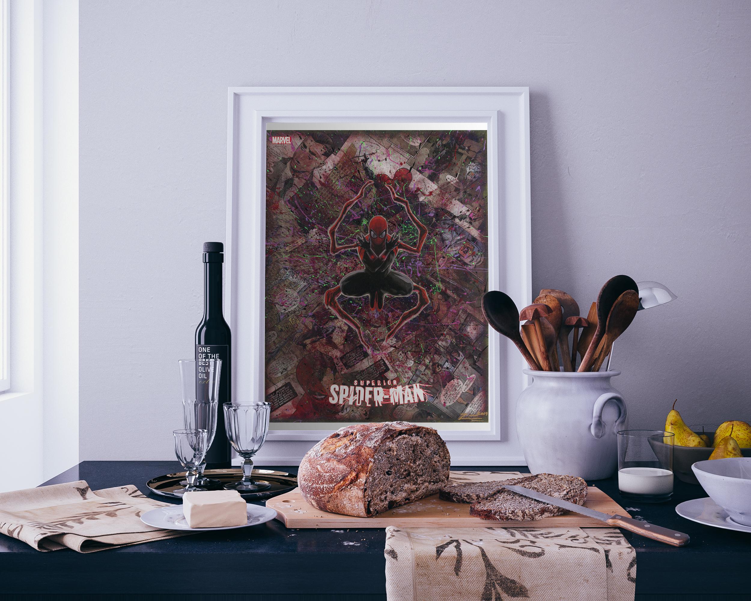 Superior-Spider-Man-Kitchen-Bread-Mockup