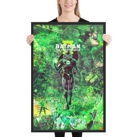 Batman Dawnbreaker – Dark Knights Metal Comic Canvas Framed Reproduction Print