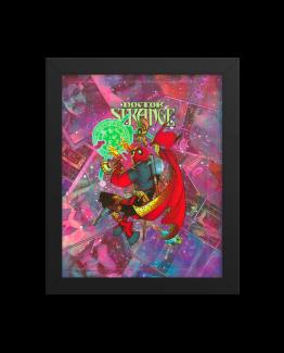 Deadpool – Doctor Strange Variant – Comic Canvas Framed Reproduction Print