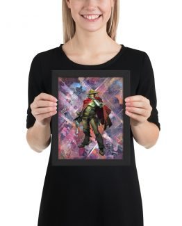 McCree – Overwatch Comic Art Framed Reproduction Print