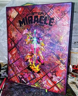 Mister Miracle # 8 First Edition – One of a Kind Comic Canvas