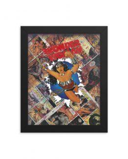 Wonder Woman Zero Issue – DC Comics Framed Print
