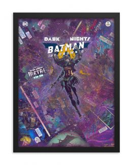 Batman: The Drowned – DC Comics – Dark Nights Metal One-Shot Framed Reproduction Print