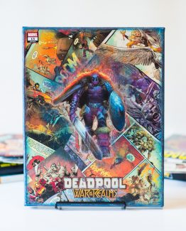 Deadpool  #13 – War of the Realms – One of A Kind Marvel Comic Book Canvas