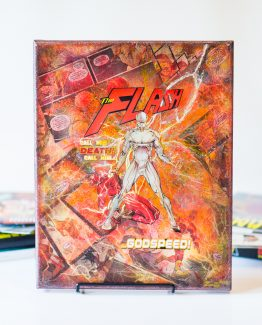 GodSpeed – The Flash – One of A Kind DC Comic Book Canvas