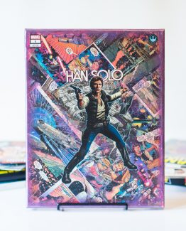 Han Solo #1 Variant – Star Wars Rebellion – One of A Kind Marvel Comic Book Canvas