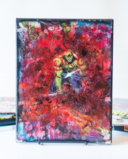 Drax The Destroyer – Guardians of the Galaxy – One of A Kind Marvel Comic Book Canvas