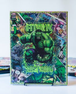 The Incredible Hulk – Last Call #1 – One of A Kind Marvel Comic Book Canvas