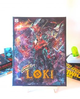 Loki #1 – Carnegized Variant Marvel Comics Thor #6 – One of A Kind Comic Book Canvas